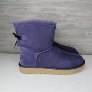 UGG WOMEN'S BAILEY BOW ll NIGHTSHADE COLOR US SIZE